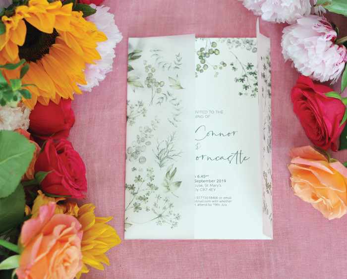 Greenery-wedding-invitation-Buck-and-Bea
