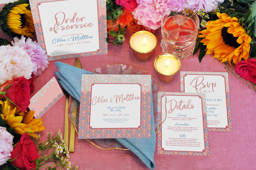 Pink-pearl-wedding-stationary-set-Buck-a