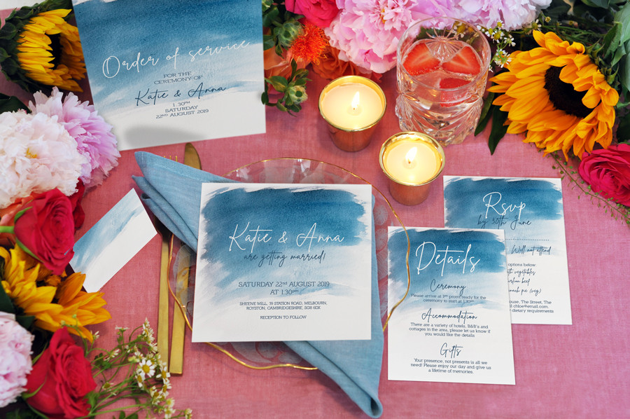 Watercolour-blue-wedding-stationary-set-