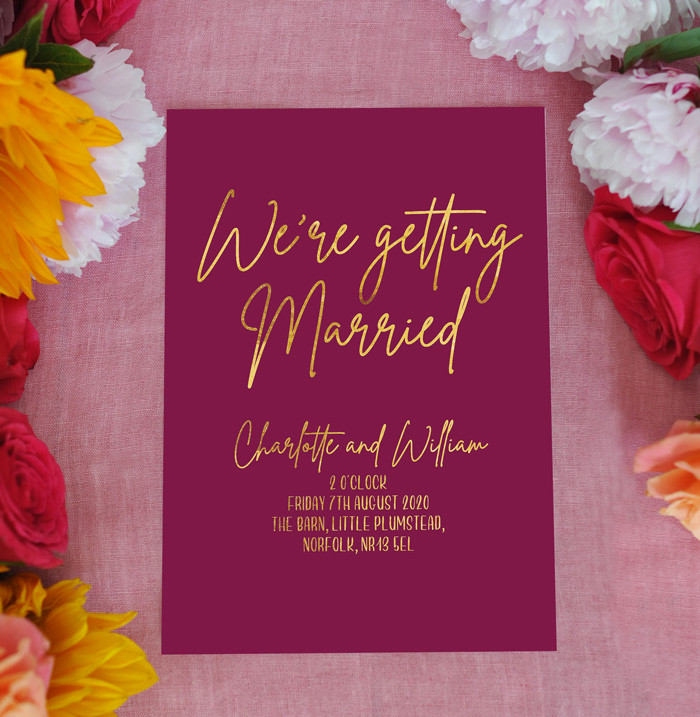 Burgundy-wedding-invitation-Buck-and-Bea
