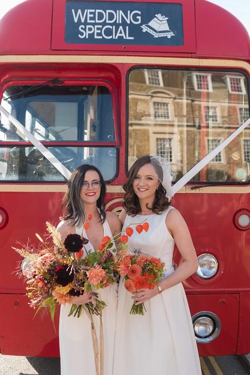 Ruth & Carla's Wedding Outfits Alteratio