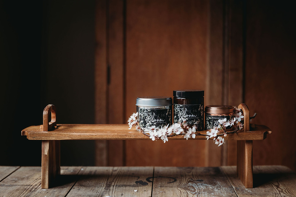 Scentscapology Candles Shot by Thyme Lane Photography