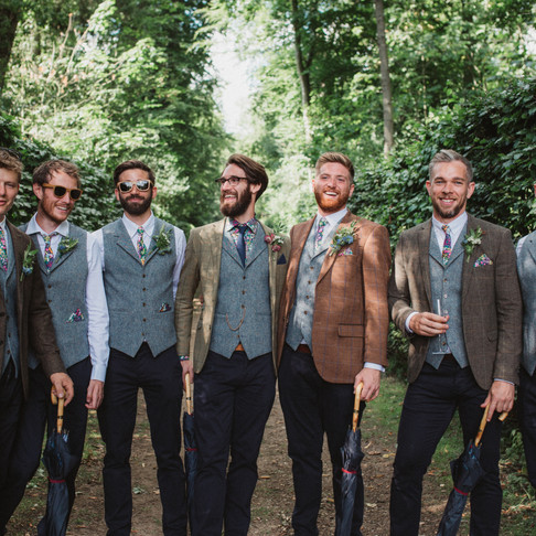 A Groom's guide to planning the Wedding Suits.
