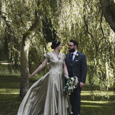 Real Bride: What Francesca wore