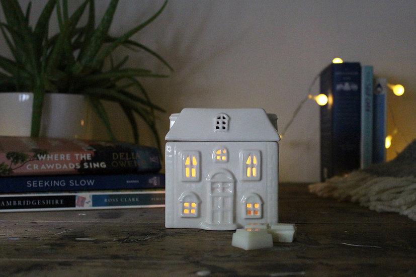 Ceramic House Shaped Fragrance Burner