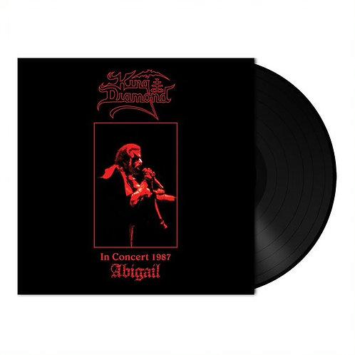 KING DIAMOND - Abigail In Concert 1987 - BLACK LP