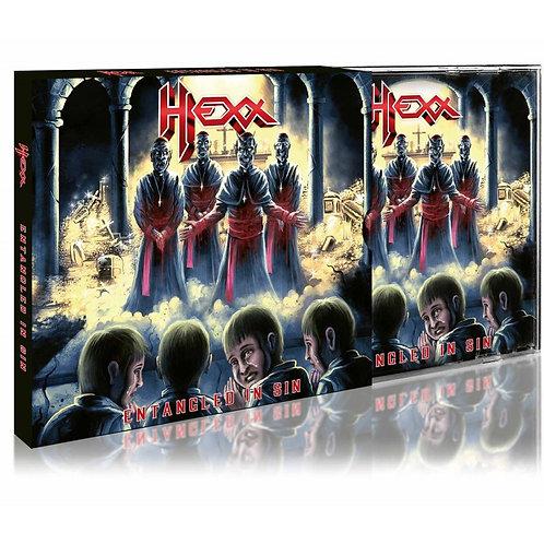 HEXX - Entangled In Sin - SLIPCASE CD