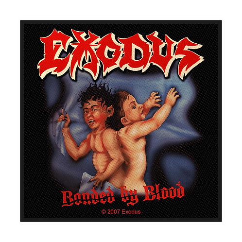 EXODUS - BONDED BY BLOOD - OFFICIEL WOVEN PATCH