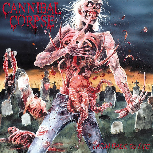 CANNIBAL CORPSE - Eaten Back To Life - DIGI CD