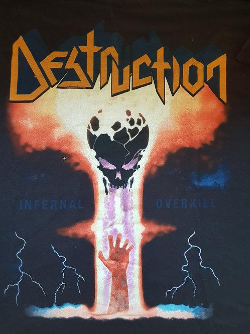 DESTRUCTION - Infernal Overkill - Size XL