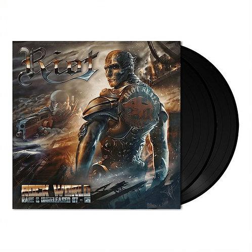 RIOT - Rock World (Rare and Unreleased 87-95) - BLACK 2 LP