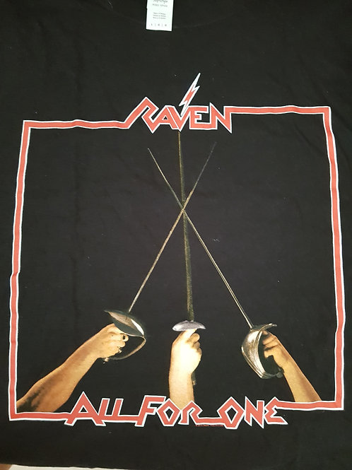 RAVEN - All For One - Size XL