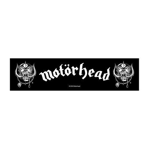 MOTORHEAD - LOGO  - OFFICIEL WOVEN PATCH