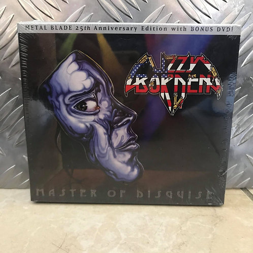 LIZZY BORDEN - Master Of Disguise - Coffret double DVD+CD