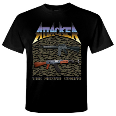 ATTACKER - THE SECOND COMING - Official T shirt