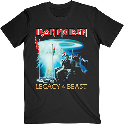 IRON MAIDEN - Two Minutes Of Legacy - Official T shirt