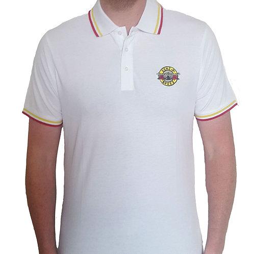 Guns n' roses - Official Polo shirt - White