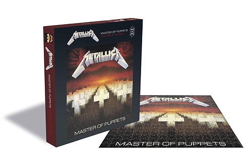 PUZZLE - METALLICA - Master Of Puppets