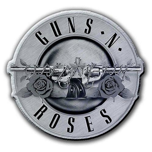 GUNS N' ROSES - Badge Metal