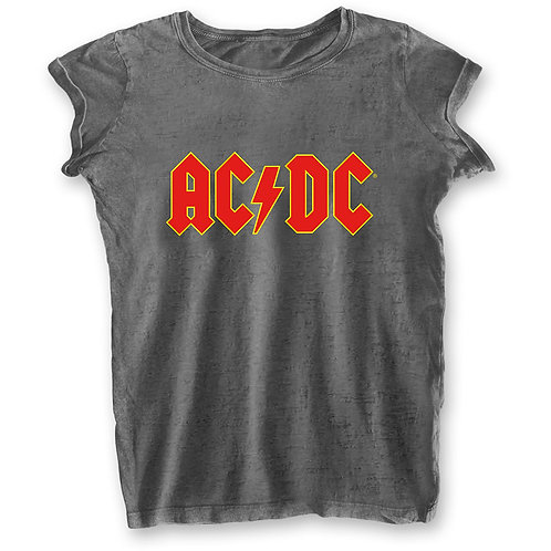 GIRLY - AC/DC - GREY SHIRT