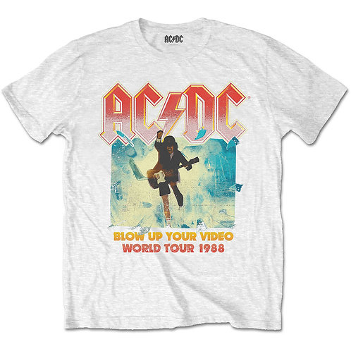 AC/DC - Blow Up Your Video WHITE