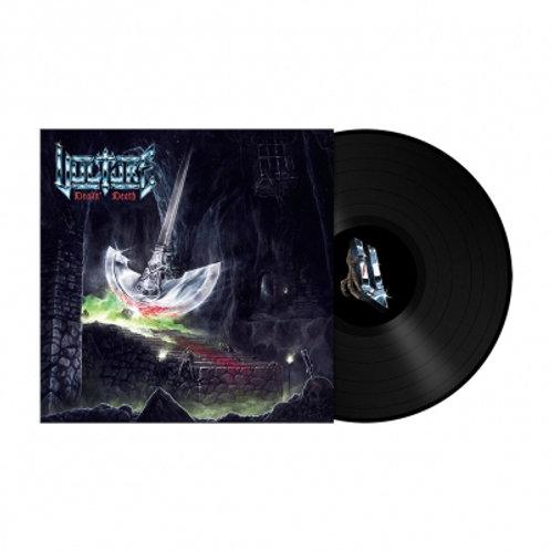 VULTURE - DEALIN' DEATH - BLACK LP