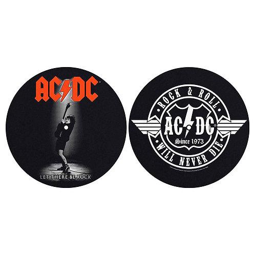AC/DC 1 - Feutrine pour platine