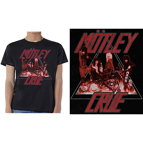 MOTLEY CRUE - Too Fast Cycle - Official T shirt