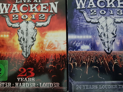 COMBO 2 COFFRETS DVD - WACKEN