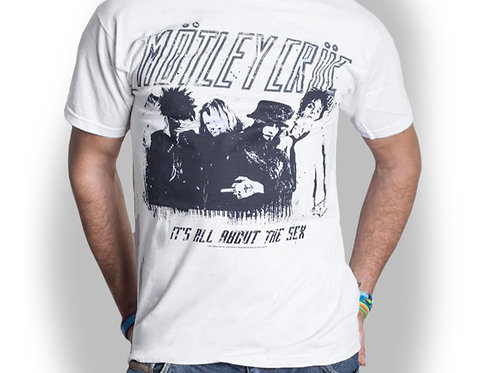 MOTLEY CRUE - It's All About The Sex - Official T-shirt