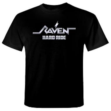 RAVEN - Hard Ride - Official T shirt