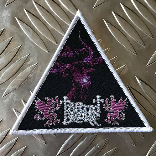 REVEREND BIZARRE - WHITE - Woven Patch