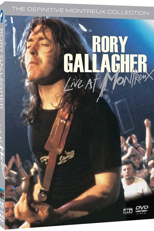 RORY GALLAGHER - LIVE AT MONTREUX - 2 DVD