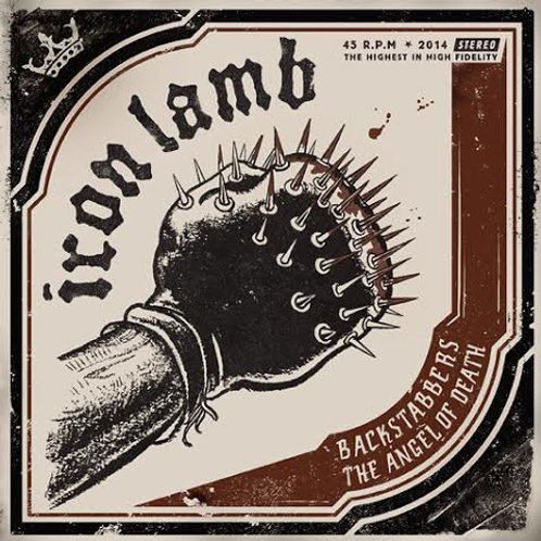 IRON LAMB - BACKSTABBERS - BLACK EP