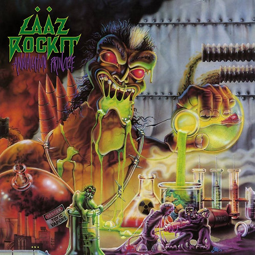 LAAZ ROCKIT - Annihilation Principle - CD/DVD