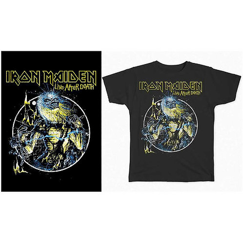 IRON MAIDEN - Life After Death - Official T shirt