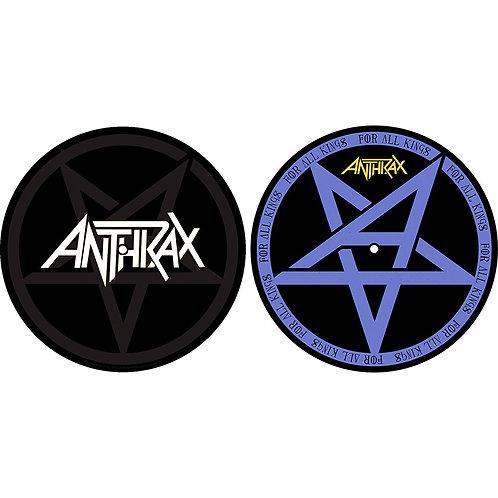 ANTHRAX  - Feutrine pour platine