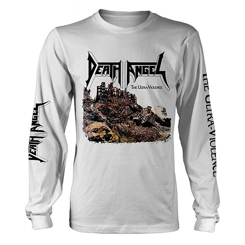 DEATH ANGEL - THE ULTRA VIOLENCE - WHITE