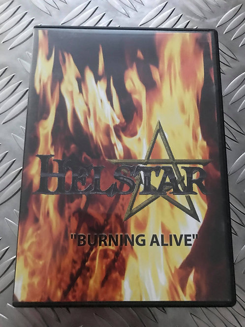 "DVD - HELLSTAR - ""Burning Alive"""