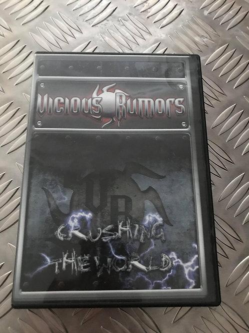 DVD - VICIOUS RUMORS - Rushing The World