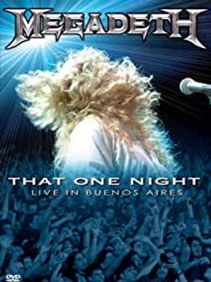 MEGADETH - THAT ONE NIGHT - DVD
