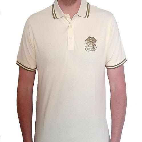 QUEEN - Official Polo shirt - White