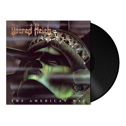 SACRED REICH - The American Way - BLACK VINYL