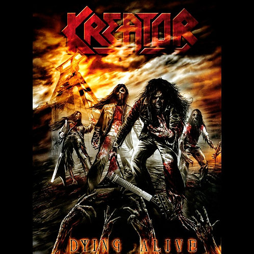 KREATOR - DYING ALIVE - 2CD + DVD