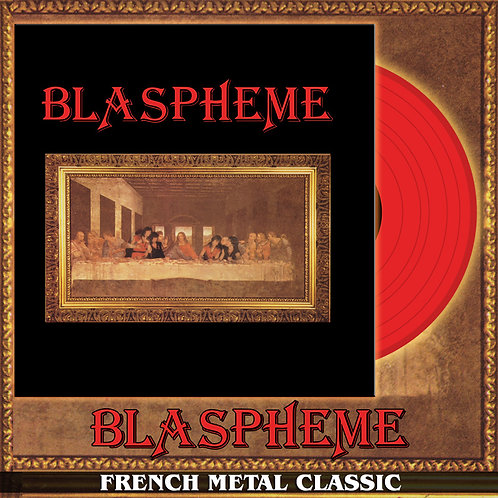 BLASPHEME - Blasphème - Solid Red LP