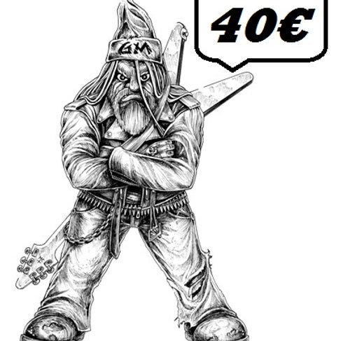 40€ - GIFT CARD GRUMPY / BON CADEAU