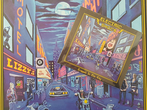ELECTRIC SHOCK - Trapped in The City - LP + DIGI CD
