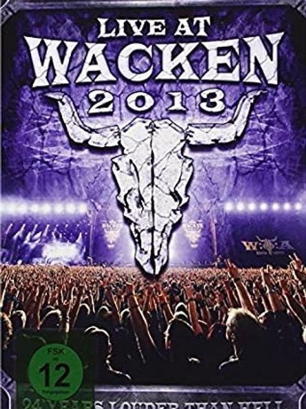 LIVE AT WACKEN 2013 - 3 DVD