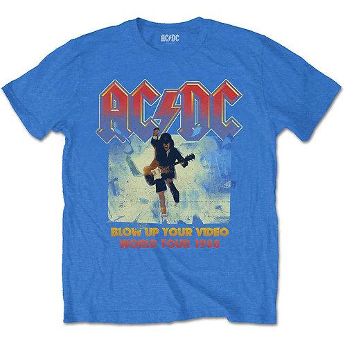 AC/DC - Blow Up Blue - Official T-shirt