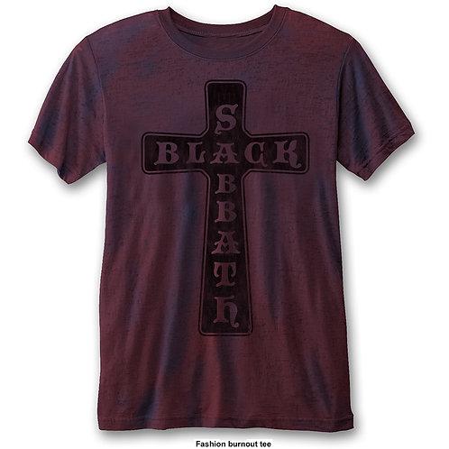 BLACK SABBATH - Cross - T shirt
